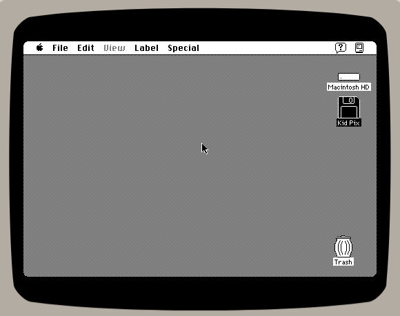 Classic macistosh running in the browser